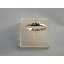 Aliança/anel Coração Ou Coroa Em Prata 950