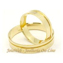 Joianete Aliança Ouro18k 6gramas(par)ls/solda Casamento