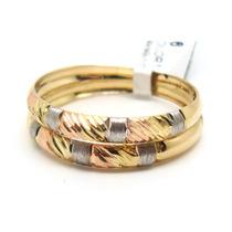 Joalheriavip Anéis Aparadores Aliança Ouro 18k Aro 21