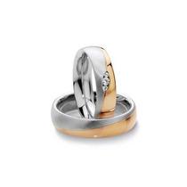 Alinças De Casamento Esplendor Em Ouro 18 Quilate