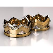 Aliança Coroa Rei Rainha