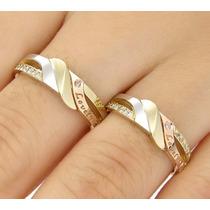 Aliança Amor Amor Em Diamantes E Ouro 18 Quilate