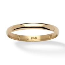 Casamento Banda Em 14k Ouro-tamanho 9