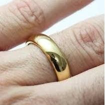 Aliança Mais Barata Compromisso Casamento Folheada Ouro 18k