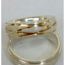 Par De Alianças Compromisso Noivado Em Prata 950 E Ouro 18k