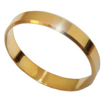 Aliança De Ouro 18k (750) 4,5 Mm Larg. 6 Gramas (par)