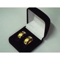 Alianças De Moeda Antiga 8mm Casamento & Noivado C/gravação