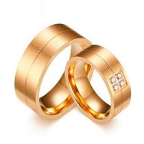 Alianças Casamento Noivado Banhada Folheada Ouro 18k Fosca