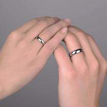 Aliança De Prata De Namoro Compromisso 6mm Aço Inox