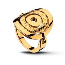 Anel Modelo Bvlgari Em Ouro 18k - Cwb Joias