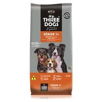 Ração Three Dogs Cães Adultos Senior 7+ 8 Kg