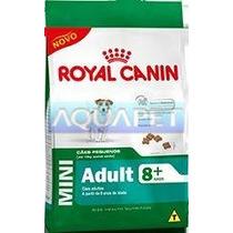 Ração Mini Adult 8+ 3kg - Royal Canin