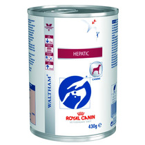 Ração Royal Canin Vet. Diet. Hepatic Canine Lata - 410g