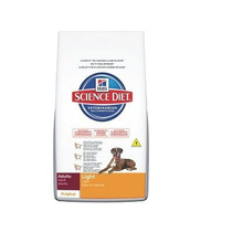 Ração Hill´s Cães Adulto Light Original – 15kg _ Scien