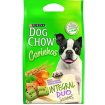 Biscoito Petisco Purina Dog Chow Integral Duo 1kg