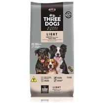 Ração Three Dogs Cães Adultos Light 8 Kg