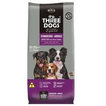 Ração Three Dogs Cães Adultos Raças Médias E Grandes 15kg
