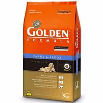 Ração Golden Cães Filhotes Carne E Arroz 15kg - Pet Hobby