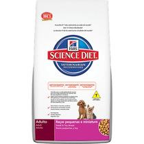 Ração Hills Science Diet Canino Adulto Raças Pequenas E Mini