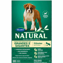 Ração Natural Cães Filhotes Raças Grandes 15 Kg