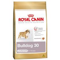 Ração Royal Canin Bulldog 30 Junior - 12kg