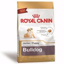 Ração Royal Canin Para Cães Filhotes Da Raça Bulldog - 12 Kg