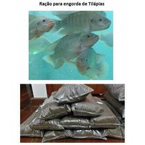 Ração Peixe Pré Juvenil Piscicultura Engorda De Tilápias 1kg