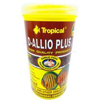 Ração Para Peixes Tropical D-allio Plus Flakes 220g 1200ml