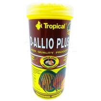 Ração Para Peixes Tropical D-allio Plus Flakes 110g 600ml