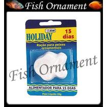 Ração Alcon Holiday 15 Dias Ração Ferias Fish Ornament