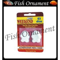 Ração Alcon Weekend 3 Dias Ração Ferias Fish Ornament