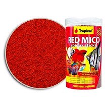 Tropical Red Mico 80g( Imita Larvas De Blood Worms )