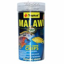 Ração Para Ciclidios Malawi - Tropical Chips 250ml - 130gr