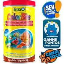 Ração Tetra Colorbits Granules 300g Para Peixes De Aquário
