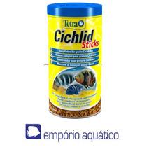 Ração Ciclideos Tetra Cichlid Sticks 75g