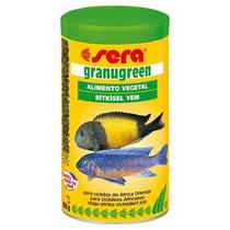 Ração Sera Granugreen P/ Peixes Herbívoros E Cíclideos 600 G