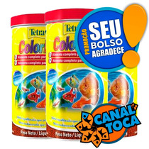 Tetra Color Tropical Granules 300 G Color Bits Fish