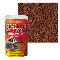 Ração Cichlid Carnivore Small Pellet Tropical (360g)