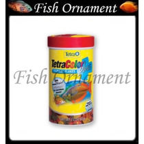 Ração Tetra Color Plus Tropical Flakes 12g Fish Ornament