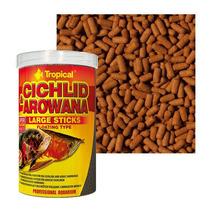 Ração Cichlid & Arowana Large Sticks Tropical (300g)