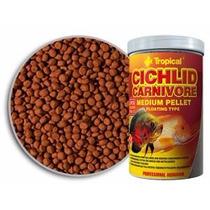 Tropical Cichlid Carnivore Medium Pellet 360g - Net Aquários
