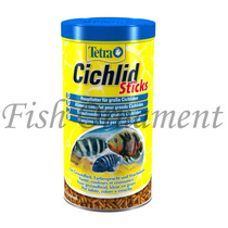 Ração Tetra Cichlid Sticks 75g Fish Ornament