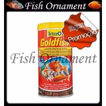 Ração Tetra Gold Fish Flakes 52g Fish Ornament