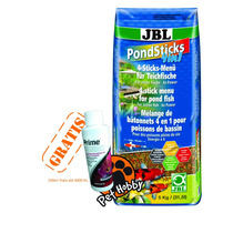 Ração Carpas Jbl Pond Sticks 4x1 5kg + Brinde + Frete Gratis