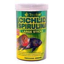 Tropical Cichlid Spirulina Large Sticks 300gr