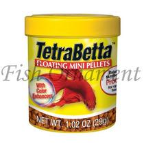 Ração Tetra Bettamin Pellets 29g Fish Ornament