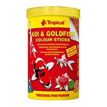 Raçao Tropical Carpa Peixe Koi & Goldfish Colours Sticks 4kg
