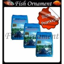 3 Ração Alcon Carpas Basic Sticks Refil 2 Kg Fish Ornament