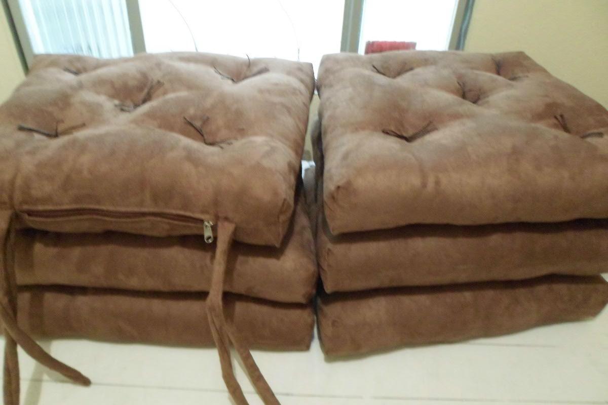 Almofada Futon Para Cadeiras / Sob Medida R$ 45 00 no MercadoLivre #3B2617 1200x800