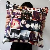 Almofada Personalizada Com Várias Fotos 40x40
